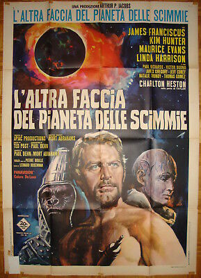 Beneath the Planet of the Apes-Sci-fi-Ted Post-Ch.Heston-Italian 2sh (39x55 inch