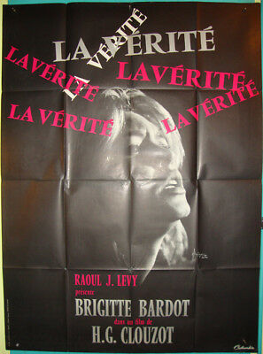 The Truth aka La Vérité-B.Bardot-H.-G Clouzot-Art By Kerfyser-French R? (47x63)
