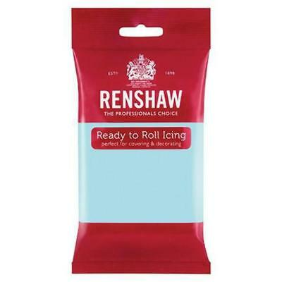 Renshaw Professional Sugar Paste Ready to Roll Icing - Duck Egg Blue - 250g