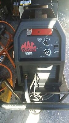 Mac Tools welder MW135 with cart and tank