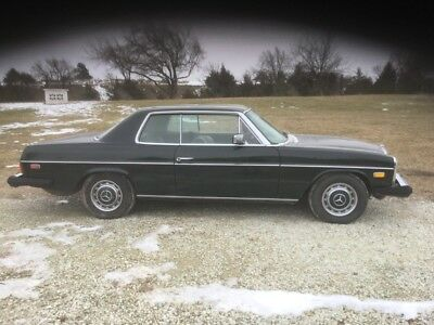 1974 Mercedes-Benz 200-Series -- I-6 1974 Mercedes-Benz 280C  Coupe I-6 3 Speed Automatic