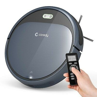 Coredy Robot Vacuum Cleaner, 1400Pa Super-Strong Suction, Ultra Slim, Automat...