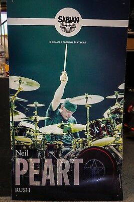 Sabian Neil Peart Because Sound Matters Promotional Poster