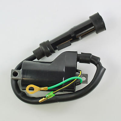 External Ignition Coil With Spark Plug Cap For Honda XR 400 R 1999 2000 2001
