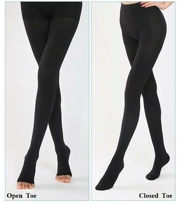 New FDA Opaque Compression Stockings Pantyhose Therapeutic 20-30mmHg FirmSupport