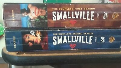 Smallville season 1 thru 10