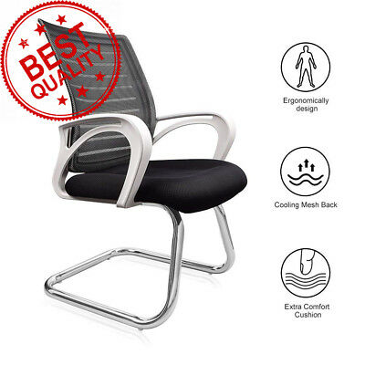 Dripex Office Desk Chair - Meeting Visitor with Medium Mesh Back Breathable...