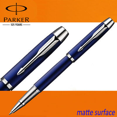 Business Full Metal Parker IM Rollerball Pen 0.5mm Nib silver clip Office school