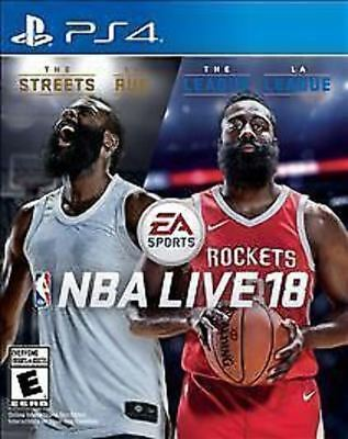 NBA Live 18 USED SEALED (Sony PlayStation 4, 2017) PS4