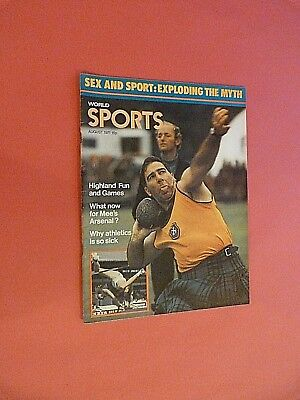 World Sports Magazine. August 1971
