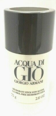Acqua Di Gio BY GIORGIO ARMANI 2.6 oz ALCOHOL FREE DEODORANT STICK SEALED.