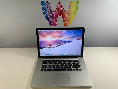 ~ Apple MacBook Pro 15 Quad Core i7 PRE-RETINA 8GB RAM 1TB Storage ~ WARRANTY ~