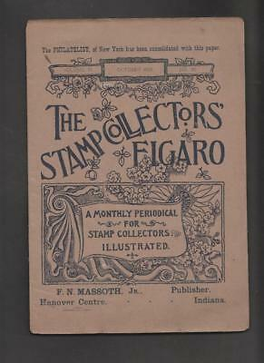 Cinderellas #145 - the stamp collectors Figaro few pages