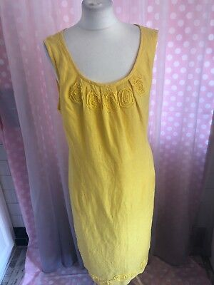 Ladies Yellow Dress Size 20. Casual / Holiday / Summer