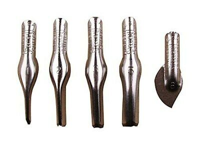 Speedball Linoleum Cutters - 5 Assorted Carving Printmaking Cutter Types, Made