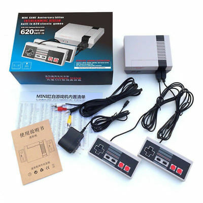 Mini Retro Game Gaming Console 620 Games Rca Christmas Stocking Stuffer