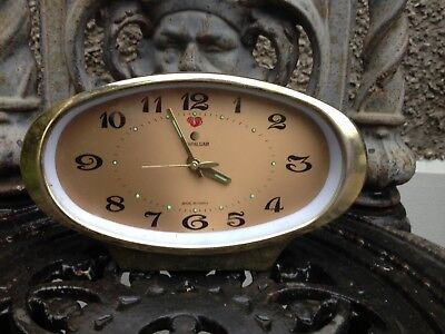 vintage clock, parts only.