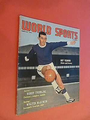 World Sports Magazine February 1963