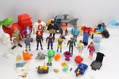 Vintage The Real Ghostbusters Toy Lot