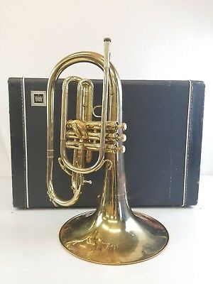 King Marching Mellophone and case (799787) instrument