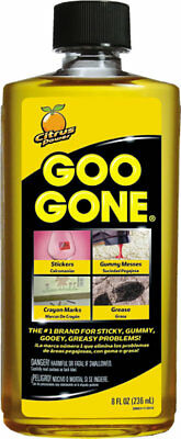 NEW Magic Goo Gone Citrus Solvent 8 oz Bottle 2087 Removes Gum Grease and Tar