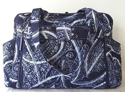Vera Bradley Stroll Around Diaper Bag Indigo