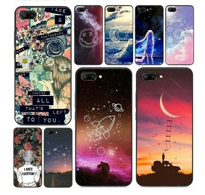 Cute Space All Star Silicone Case For Huawei Mate20 P20 P10 P9 P8 Honor 10 9