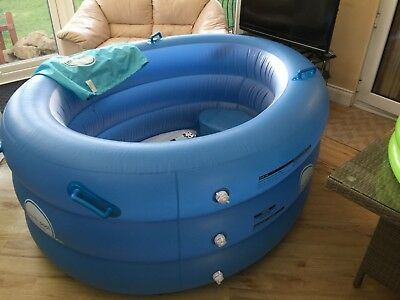 Birth Pool In A Box Eco Regular Plus – Includes air pump but no liner.