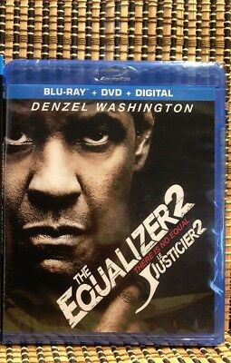 The Equalizer 2 (2-Disc Blu-ray/DVD, 2018)Denzel Washington/Antione Fuqua