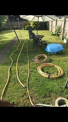 5x Used 19mm Compressor Hose, 3/4 Claw Couplings