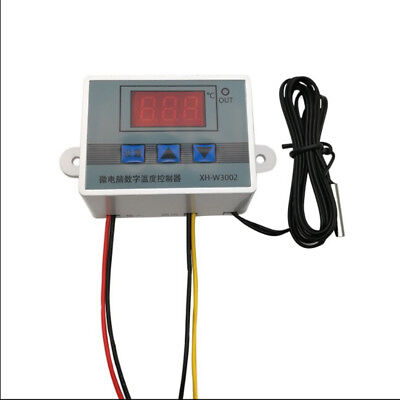 1Pc 220v digital temperature controller 10a thermostat control switch probe—AY