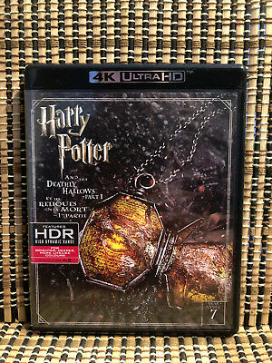 Harry Potter and the Deathly Hallows Part 1 4K (3-Disc Blu-ray, 2017)JK Rowling
