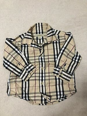 burberry Baby shirt 12 Month
