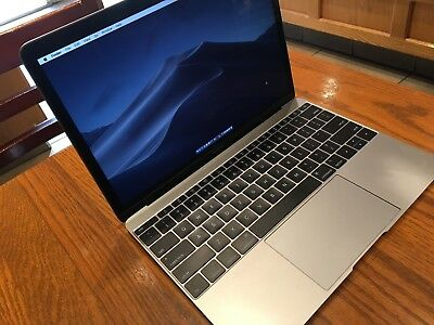 Apple MacBook (Retina, 256 GB SSD, 8GB RAM, Core m3, Space Gray - 2017) A1534