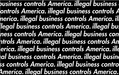 Illegal Business Controls Vinyl Painting Stencil For Shoes & Small Objects