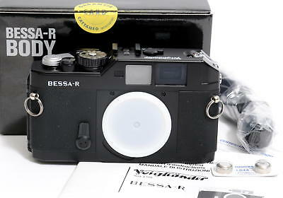 Voigtlander Bessa-R  Camera Body black f. Leica Screw Mount M39 Mint condition