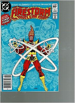 The Fury of Firestorm The Nuclear Man 1  DC 1982 VF/NM