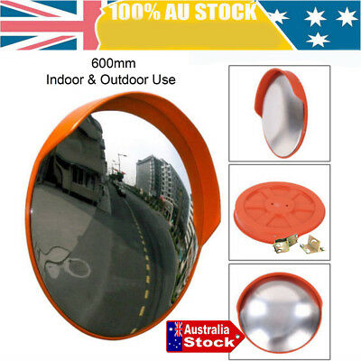 60cm Round Convex Mirror Blind Spot Safety Traffic Driveway Shop Wide Angle