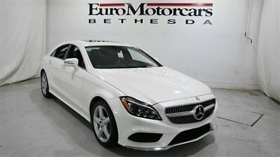 2015 Mercedes-Benz CLS 4dr Sedan CLS 400 4MATIC mercedes benz cls 400 4matic awd coupe used certified 15 diamond black nav white