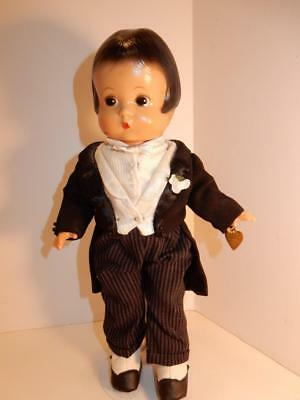 "Reproduction Doll Of Antique Effanbee Patsy 13"" Groom Doll"