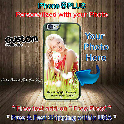 Personalized Custom Photo Picture Phone Case Cover fits iPhone 8Plus