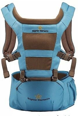 Brighter Elements Ergonomic Baby Carrier With Hip Seat
