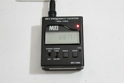 MFJ Frequency Counter 1MHz To 3GHz Handheld Portable