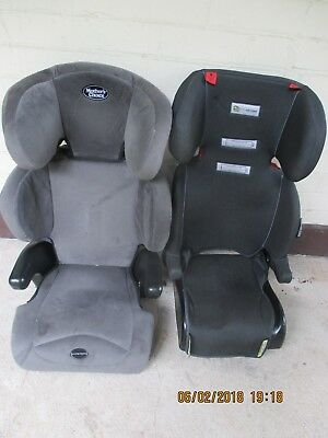 2x booster seats Mothers choice Imperial+Infa secure 4 to 7 years pick up only