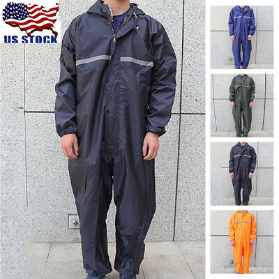 Motorcycle Rain Suit Raincoat Overalls Waterproof Men Fashion Work Outdoor Lot
