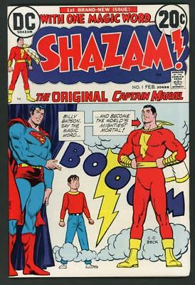 Shazam #1,2,3,4,5 (DC 1973) HI-GRADE LOT of 5 issues - No Reserve 9.0