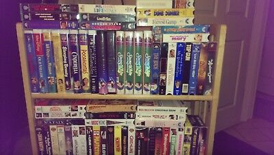 Lot Of Vhs Movies Pick Any 5 For $9.95 With Free Shipping!