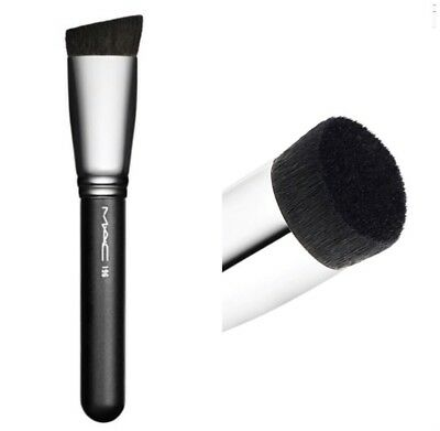 MAC 196 Slanted Flat Top Foundation Brush - Authentic Brand New