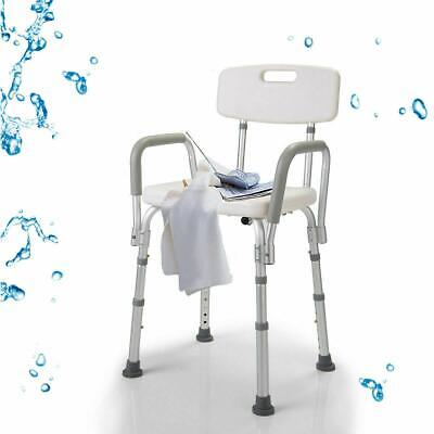 100% True Elderly Bath Shower Chair Aluminum Alloy Medical Transfer Bench Ergonomic Old People Bathroom Armchair Cst-3052 White Back To Search Resultsfurniture Us Stock Salon Furniture