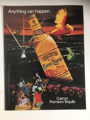 1983 JOSE CUERVO ESPECIAL GOLD Tequila Anything Can Happen Parrot City Lights